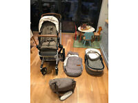 Joolz Day Earth Pram with carrycot and lots of extra, buggy, pushchair, stroller