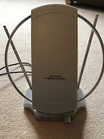 Indoor TV antenna aerial