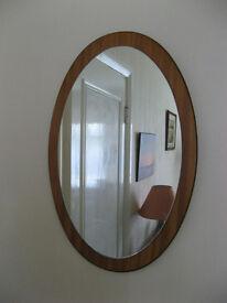 Mirror - Oval wall mirror