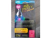 Disco ball light bulb