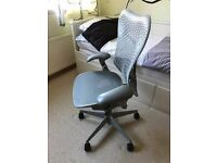 Herman Miller Mirra desk chair, in new-like conditions