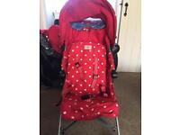 Maclaren cath kidston limited edition buggy