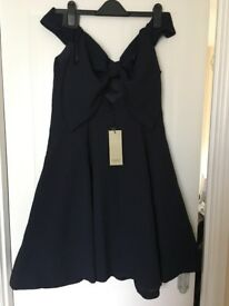 BNWT COAST Navy blue dress SIZE 16
