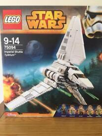 Star Wars Lego 75094 - Imperial Shuttle Tydirium BNIB