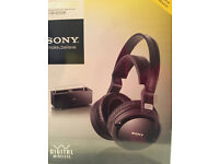 Wireless stereo headphone system Sony MDR-RF4000K, very good condition, rarely used