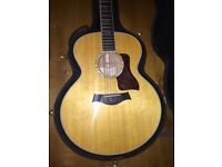 2001 Taylor 655 Jumbo Acoustic Guitar Stunning Flamed Maple Back And Sides Bear Claw Spruce Top