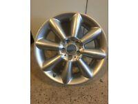 Mini alloy Wheel Cone Spoke Silver 507 18 Inch 6855116