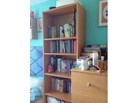 Flatpack bookcase - in really good condition!
