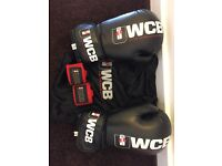 Official UWCB Boxing Gloves, Hand Wraps and Tote Bag