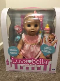 New Luvabella Blonde doll