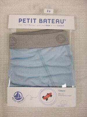 PETIT BATEAU Boy/'s LS Top /& Briefs Set 78024 Sz 3 $46