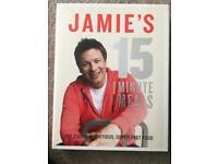 New Jamie's 15 minute meals cookbook