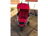 Quinny Zapp Xtra Red Pushchair & extras