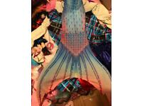 Mermaid tail with fin
