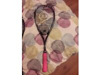 Different squash racquets for sale