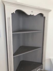 Corner unit display cabinate