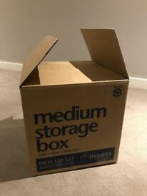 20 Medium Storage Boxes