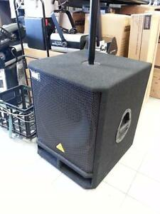 "Behringer !8"" PA Powered Subwoofer VQ1800D. 45021"