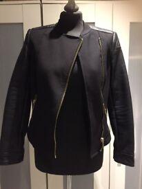 Zara basics jacket size 8/10