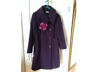 Minuet Ladies Wool Coat, size 12