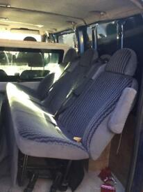 Ford tourneo ford transit rear seats