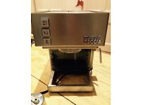 Gaggia domestic coffee machine with milk wand