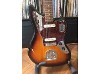 Mint condition squier Jaguar electric guitar fender