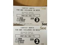 ONE CARFEST NORTH FOR SUNDAY ADULT TICKET