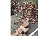Broken and Whole Cheshire House bricks