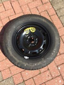 Seat Ibiza - VW Polo spare wheel and tyre brand new