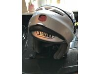 Shoe motorbike helmet