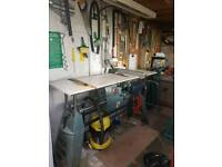 Workshop bench/table saw
