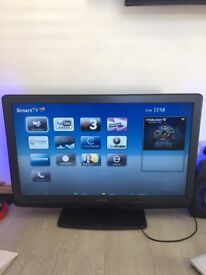 """Phillip 37"""" smart tv with ambilight and wireless"""