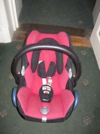 Mixi Cosy baby carseat