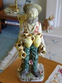 Capodimonte style figurine