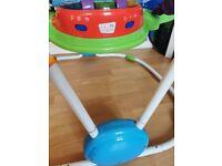Baby activity bouncer