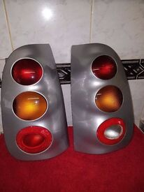 Smart + For + Two Rear Light Clusters