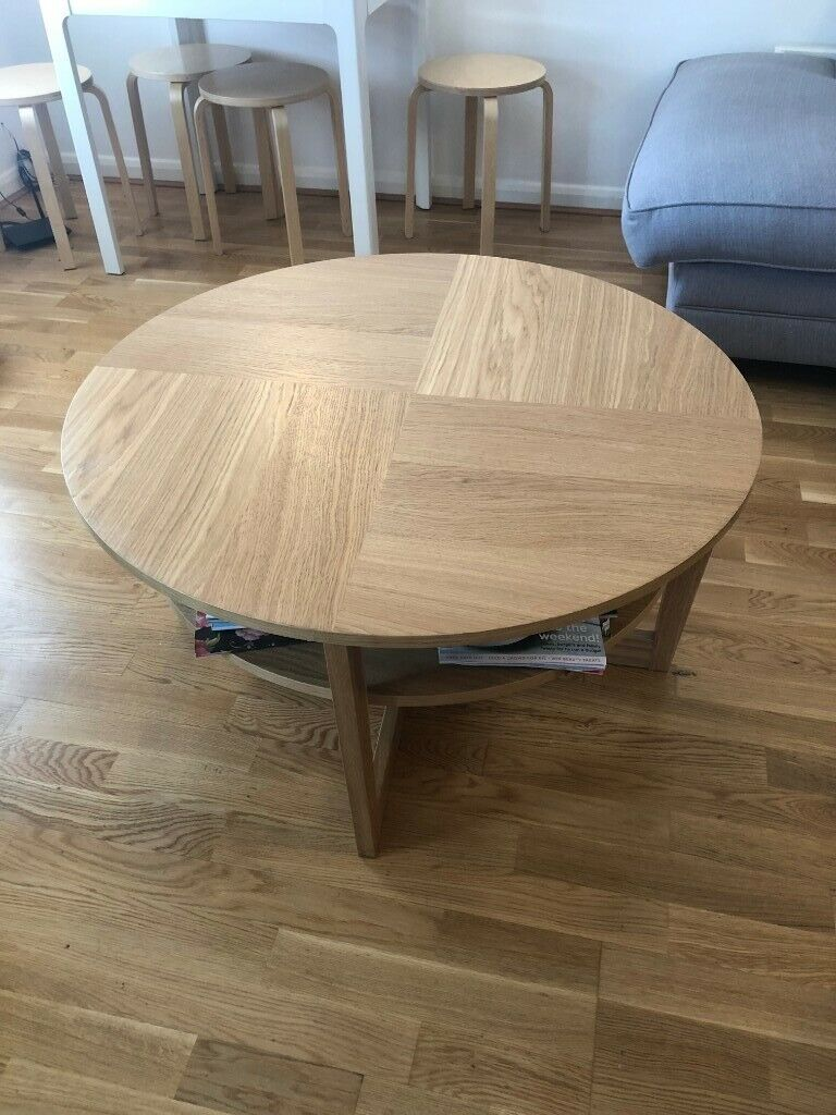 Pleasant Round 2 Layer Coffee Table In Henley On Thames Oxfordshire Gumtree Machost Co Dining Chair Design Ideas Machostcouk