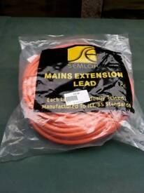 25 Metre Extension Mains Lead