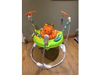 Fisher-Price Roaring Rainforest Jumperoo GREAT CONDITION