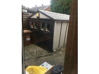 garage for collection buyer to dismantle asbestos roofing mickleover area