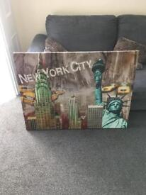 Canvas picture New York