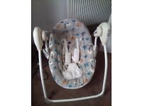 Baby musical rocking chair