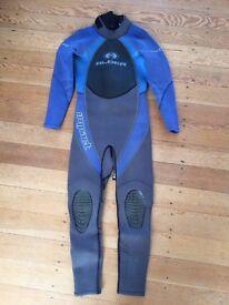 "Junior Wetsuit, for child height 4'4""-4'6"" (131-137cm)"