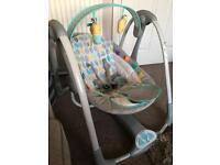 Baby swing. Ingenuity Taggies.