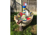 Little tikes pirate ship water or sand table. Great condition £30
