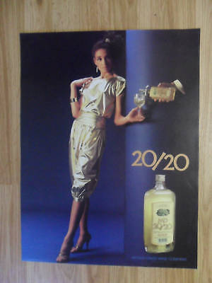 Sexy Girl Beer Poster Mad Dog Mogen David MD 20/20 Wine ~ Classy Gold Sheen Gown