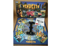 """VENDETTA"" Chicago in the 30's board game. By Parker Games 1988."