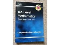 New A2-Level Year 2 Maths OCR MEI Complete Revision & Practice By CGP Books RRP £11