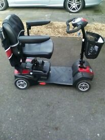 CARECO ZOOM TRANSPORTABLE MOBILITY SCOOTER IMACULATE COND